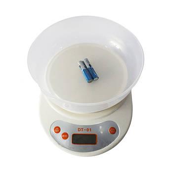 Кухонные весы с чашей Domotec  DT-01 D100
