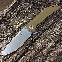 Нож CH Outdoor CH3504 G10, хаки, фото 1