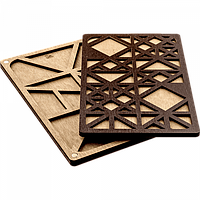 Органайзер для бисера с деревянной крышкой FLZB-047
