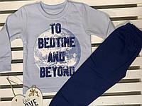 "Пижама для мальчика хлопковая ТМ ""Фламинго"" рост 104"