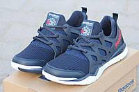 Кроссовки Reebok темно синие 2051