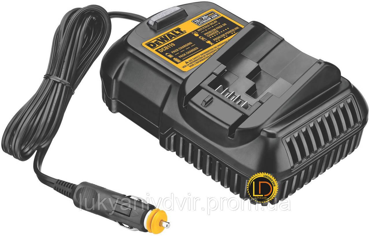 Зарядное устройство от прикуревателя DeWALT XR Li-lon 10,8 В-18,0 В