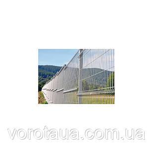 Секция оцинковка ЗАГРАДА ЭКО высота 1.5 м, длина 2.5 м