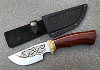 Нож туристический эксклюзивный с литьём Спутник 18, марка стали 1.4116 (длина клинка 109 мм)