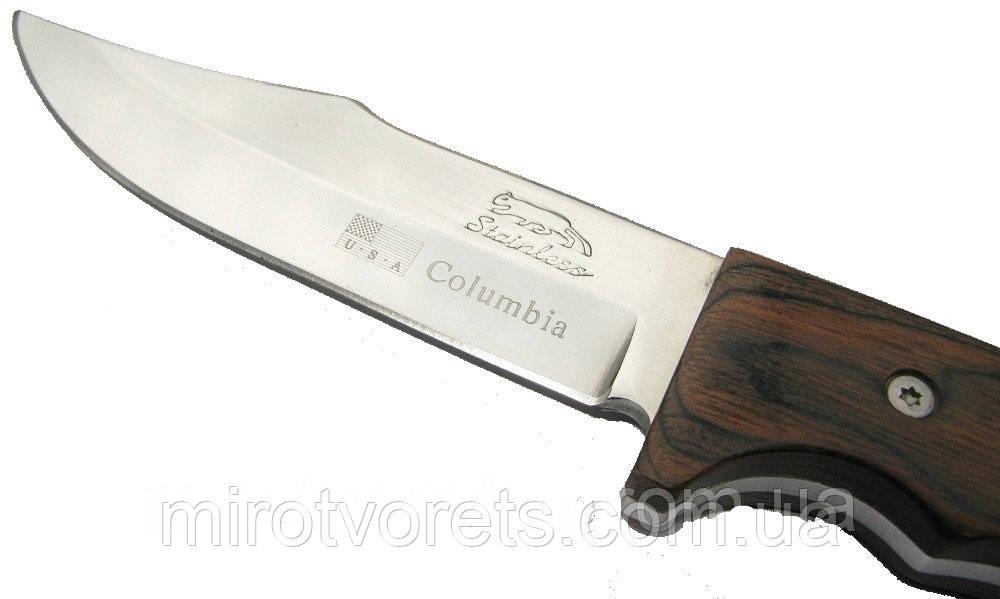 "Нож Columbia ""Охотничий"". ОПТОМ"