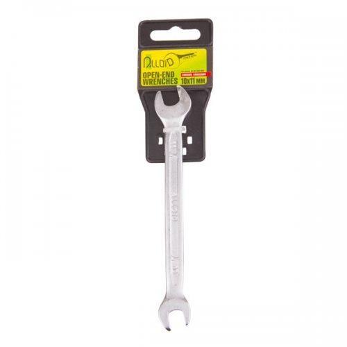 Ключ рожково-рожковий 10х11мм Alloid KT-2051-1011