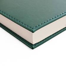 """Ежедневник А5 дат. """"Persona"""", тверд., PU, 352 стр., зеленый                               , фото 3"""