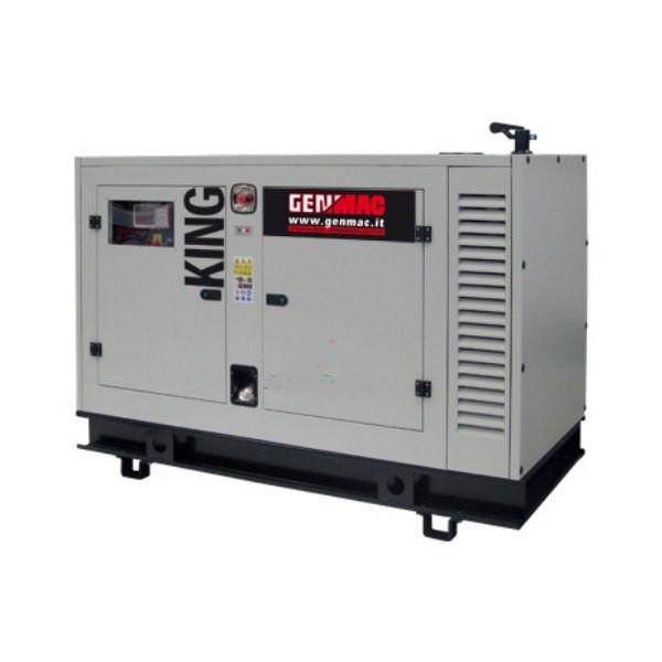 Трехфазный дизельный генератор Genmac Queen G125JSA (135 кВа)