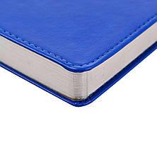"Ежедневник А5 дат. ""Aldento"", интегр., PU, 386 стр., синий                                , фото 2"