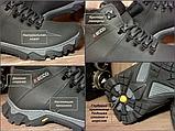 Мужские зимние ботинки Ecco, из натуральной кожи, фото 3