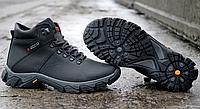 Мужские зимние ботинки Ecco, из натуральной кожи