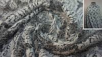 Трикотажная ткань травка принтованная, фото 1
