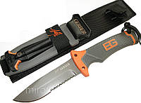 Нож с огнивом Gerber Ultimate Fixed Blade, серейтор (Bear Grylls), фото 1