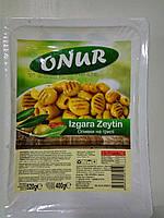 Оливки на гриле зеленые, 400 г, ТМ ONUR