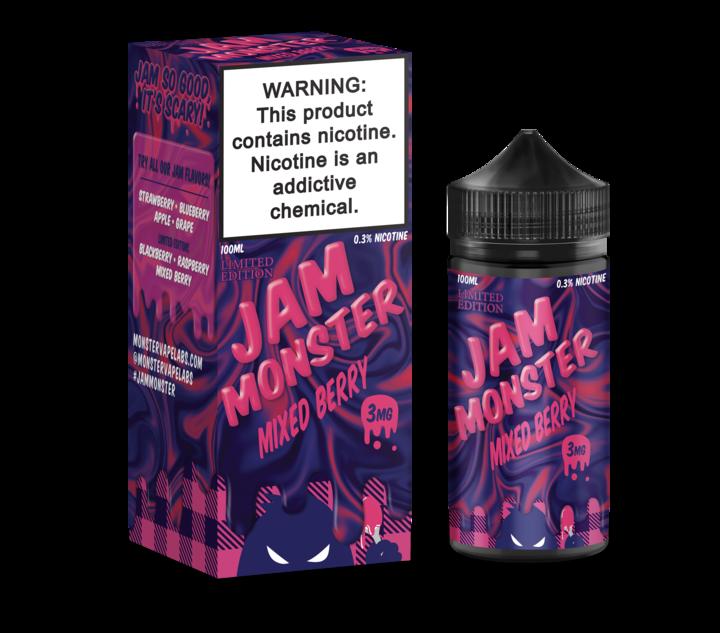 Премиум жидкость Jam Monster - Mixed Berry (LE) 100ml [3mg] (Original)