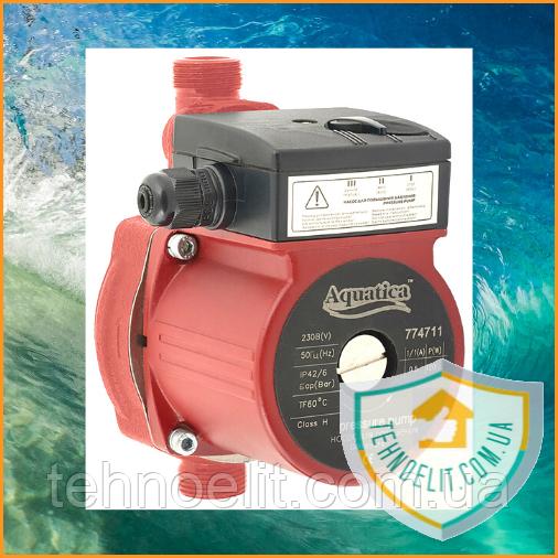 Насос для повышения давления Aquatica 160мм + гайки. Насос для підвищення тиску. Насос повышающий давление.