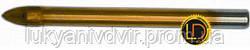 Сверло по плитке и стеклу, 4 резца, 8 мм, Resource