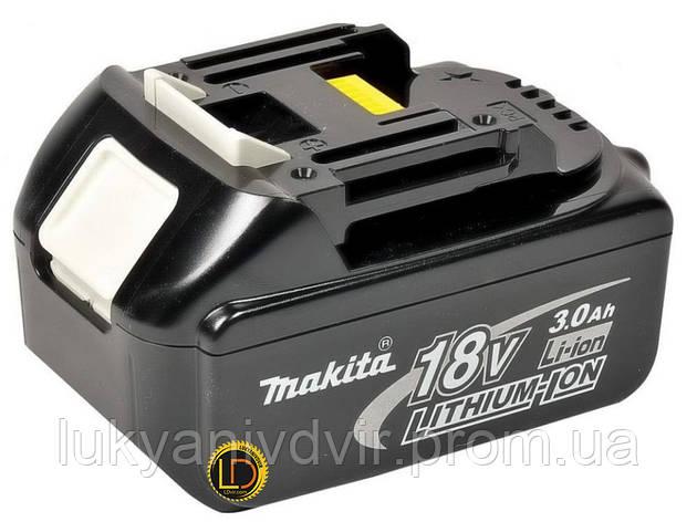 Аккумулятор Makita LTX BL1830, Li-Ion, 18V, 4.0 Ач, фото 2