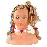 Кукла манекен для причесок и макияжа с длинными волосами Klein 5240