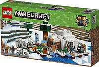 Детский конструктор LEGO Minecraft Igloo 21142