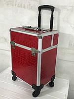 Кейс для косметики БИГ (красный)