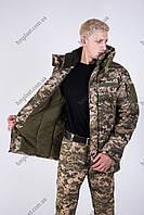 Бушлат Зимний Военный Патриот Пиксель