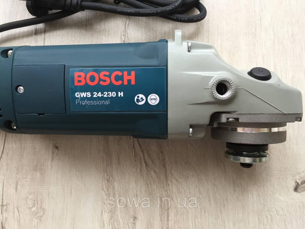 ✔️ Болгарка Бош/Bosch GWS 24-230H   ( 230 круг )