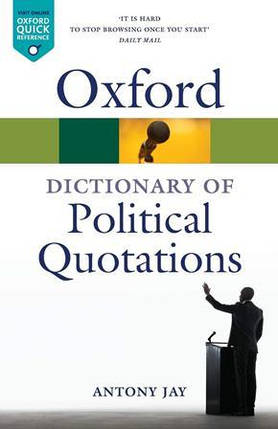 Oxford Dictionary of Political Quotations, фото 2