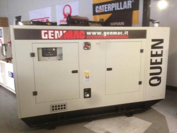Трехфазный дизельный генератор Genmac Queen G100PSA (112 кВа)