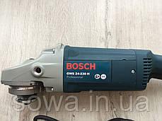 ✔️ Болгарка Bosch GWS 24-230H    230 круг, 2400Вт, фото 3
