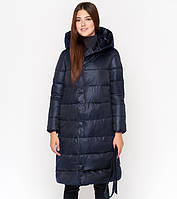 11 Kiro Tokao | Женская зимняя куртка 818 синяя