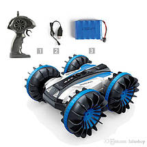 Водонепроницаемая Машинка-Перевертыш вращается на 360° и делает Сальто машинка на радиоуправлении + подарок, фото 3