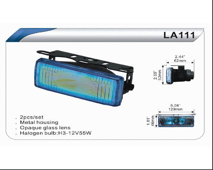 Фары дополнительные DLAA LA 111 Y/H3-12V-55W/129*46mm