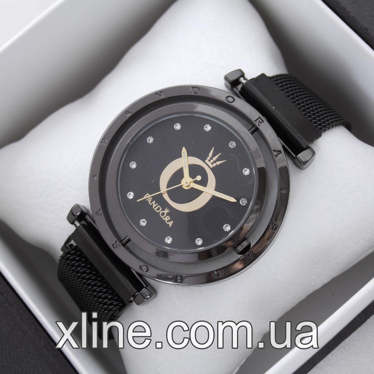 Жіночі наручні годинники Pandora M276 на металевому браслеті