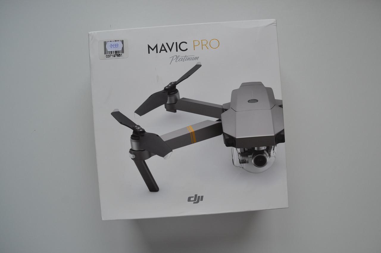 Новый Квадрокоптер DJI Mavic Pro Platinum Оригинал!