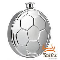 Подарочная фляга футбольный мяч 150 мл