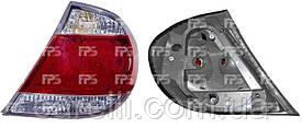 Фонарь задний для Toyota Camry V30 '04-06 левый (DEPO) американская версия, 4 лампы