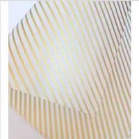 """Фетр ламінований для квітів 60х60 см.(20 шт.) """"Діагональ золота"""""""