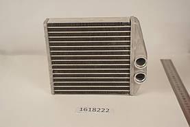 Радиатор печки Opel Combo C 2000- (170*160*42мм по сотах) KEMP