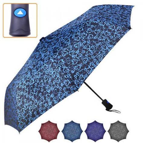 Зонт полуавтомат складной r55см 8сп, фото 2