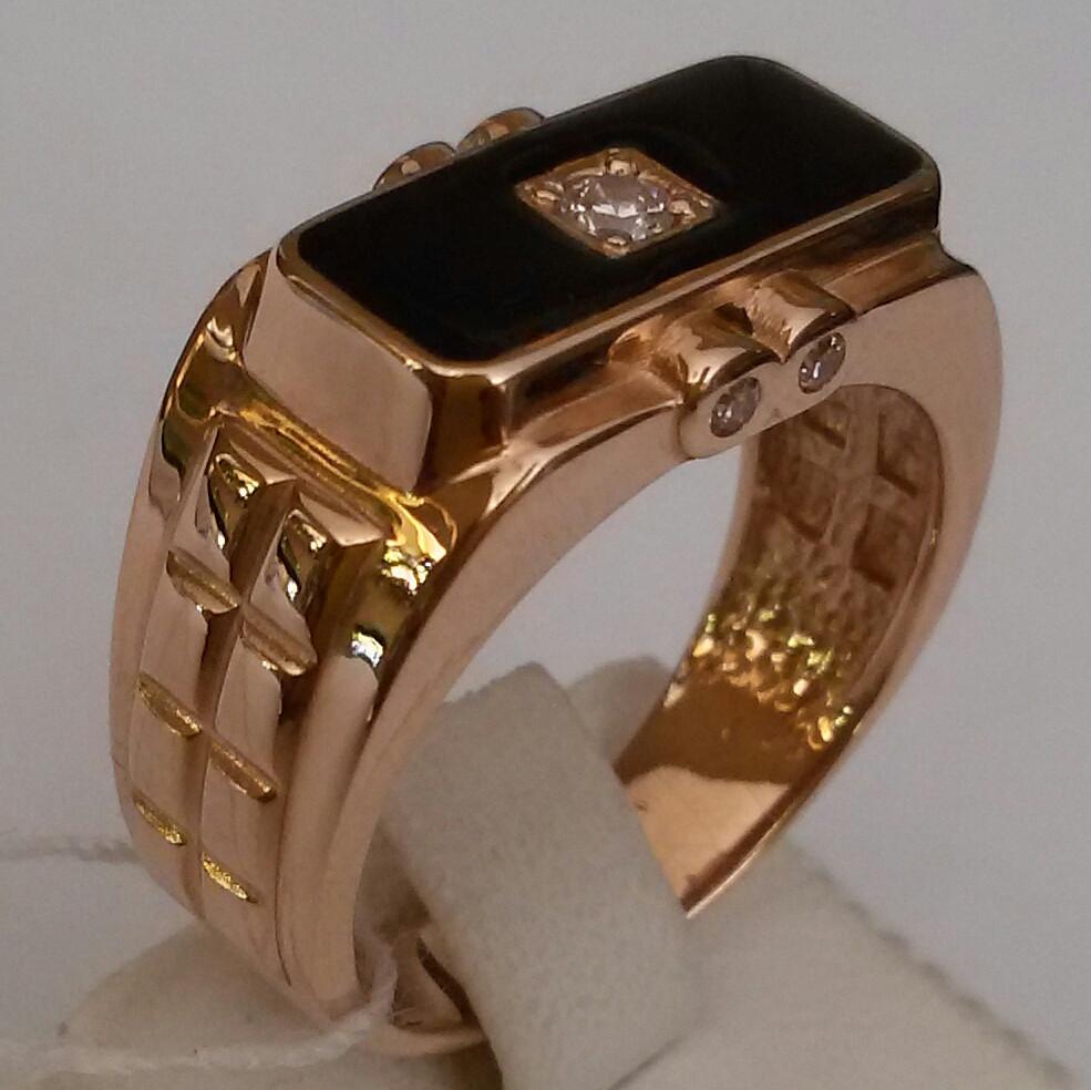 Модные мужские кольца из золота фото