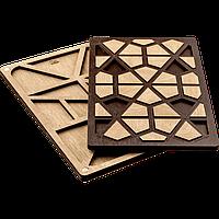 Органайзер для бисера с деревянной крышкой FLZB-054