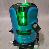 Лазерный уровень нивелир KRAISSMANN 5LL30 зеленый луч, фото 4