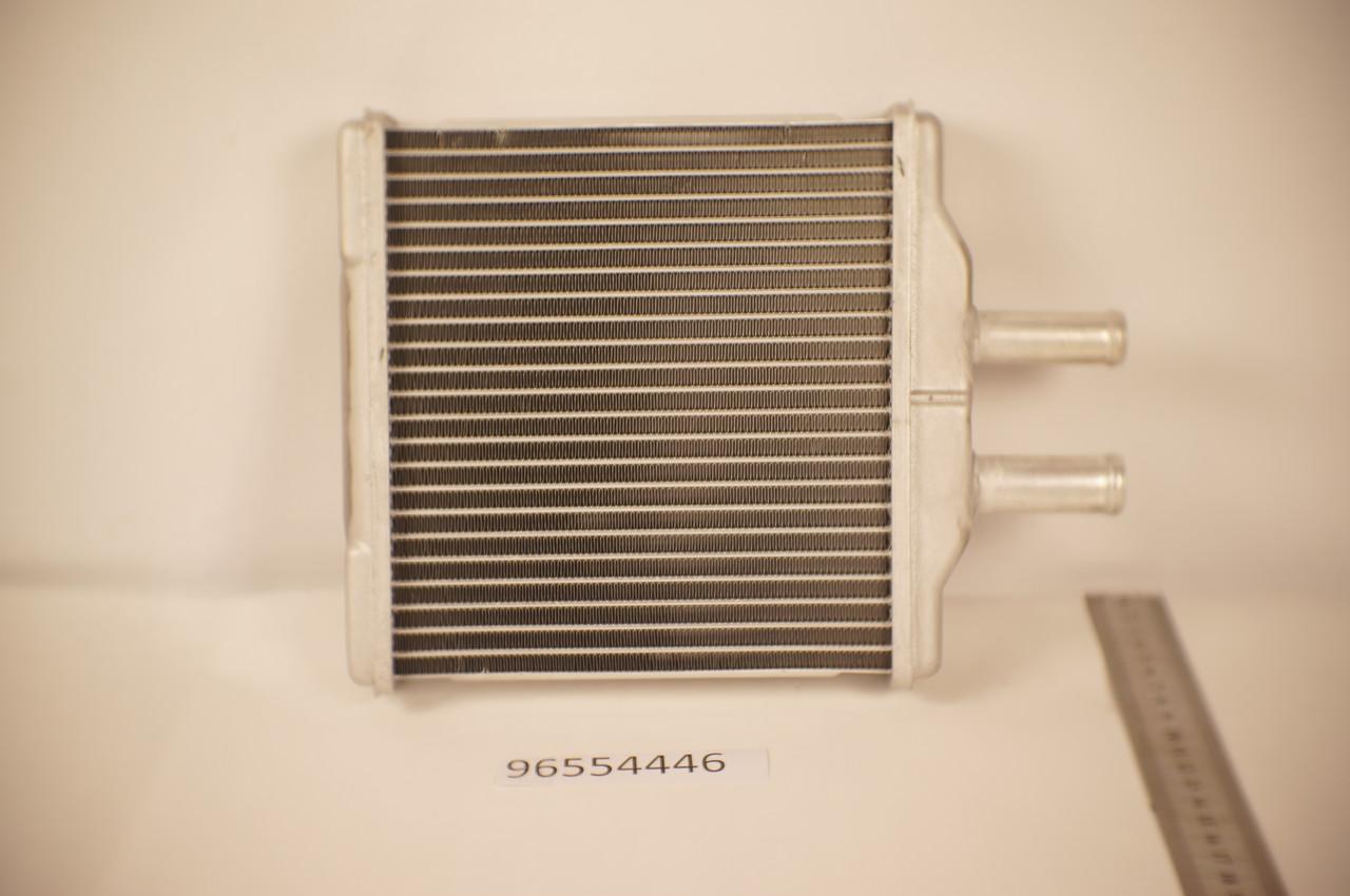 Радиатор печки Daewoo Nubira 2 2003- (алюминиевый) KEMP