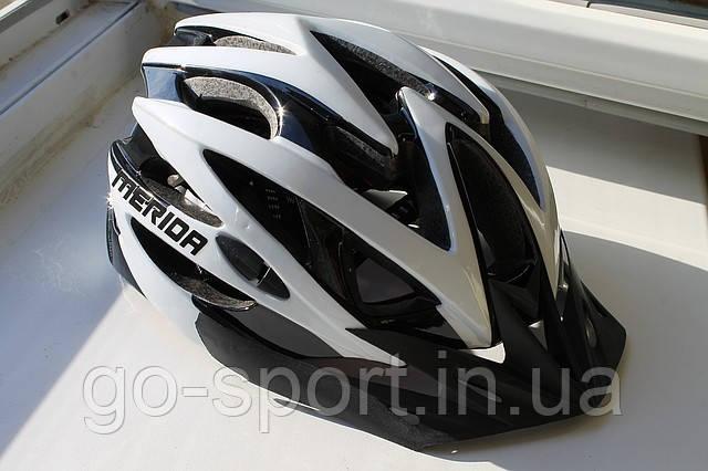 Шлем велосипедный Merida white