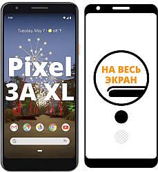 Защитное стекло Google Pixel 3a XL (на весь экран изогнутое) (Гугл Пиксель 3A ХЛ)