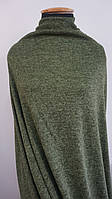 Трикотажная ткань ангора софт однотонная хаки, фото 1