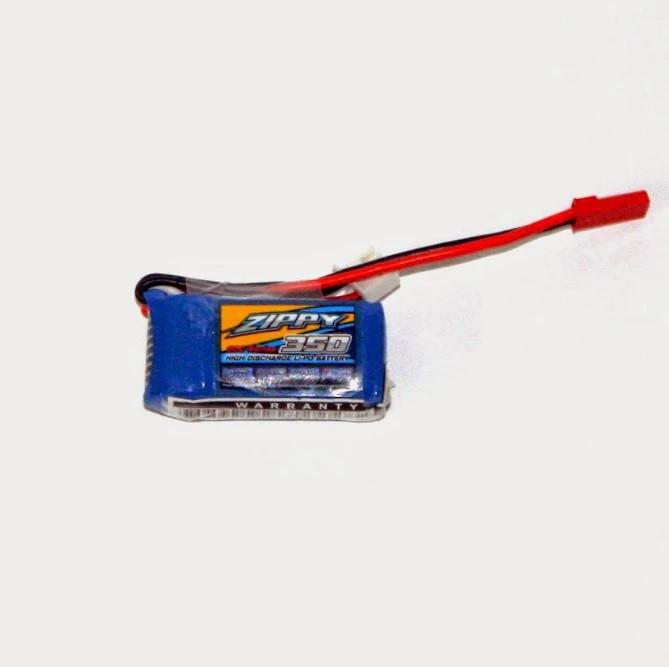 Акумулятор Zippy 7.4v 350mAh 20C
