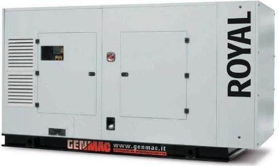 Трехфазный дизельный генератор Genmac Royal G300PSA-E (300 кВа)