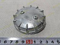 Крышка бензобака (топливного бака) Москвич 2140,412 глухая (белая), фото 1